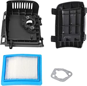 Poweka 14 743 03-s Air Cleaner Kit Compatible with Kohler XT650 & XT675 Series Engines, Lawn & Garden Equipment Engine Air Filter Cover 14-083-22 14-096-119-S