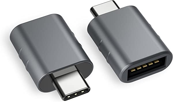 Amazon.com: Syntech USB C to USB Adapter (2 Pack), Thunderbolt 3 to USB 3.0  Adapter Compatible with MacBook Pro 2019 and Before, MacBook Air 2020, Dell  XPS and More Type C Devices,
