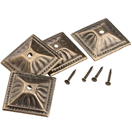 Superieur 100Pcs Antique Bronze 21x21mm Square Nail Head Upholstery Decorative Nails  Tack Stud Jewelry Wooden Box Furniture