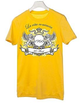 t-Shirt Humor LA Vida Comienza cumpleaños, 50 años, Todas ...