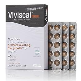 Viviscal Man Maximum Strength Hair Nourishment supplement 男性用髪の毛用エキストラ髪の栄養補助 サプリメント 60錠