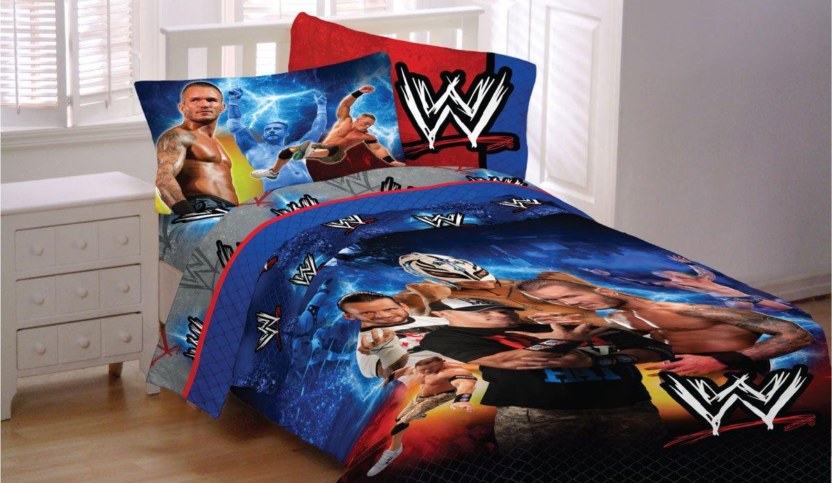 Amazon com  WWE Wrestling Champions 4pc John Cena Twin Bedding Set  Home    Kitchen. Amazon com  WWE Wrestling Champions 4pc John Cena Twin Bedding Set