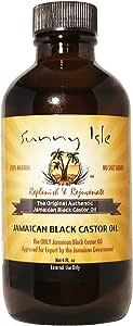 Sunny Isle Jamaican Black Castor Oil, 4 Ounce