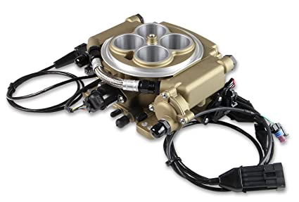 Holley 550-520 Holley Sniper EFI Self-Tuning Kit Super Sniper 4150 Carb Replacement
