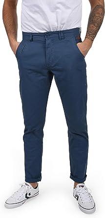 Blend Tromp Pantalon Chino Pantalones De Tela Para Hombre De 100 Algodon Regular Fit Tamano W31 32 Color Ensign Blue 70260 Amazon Es Ropa Y Accesorios