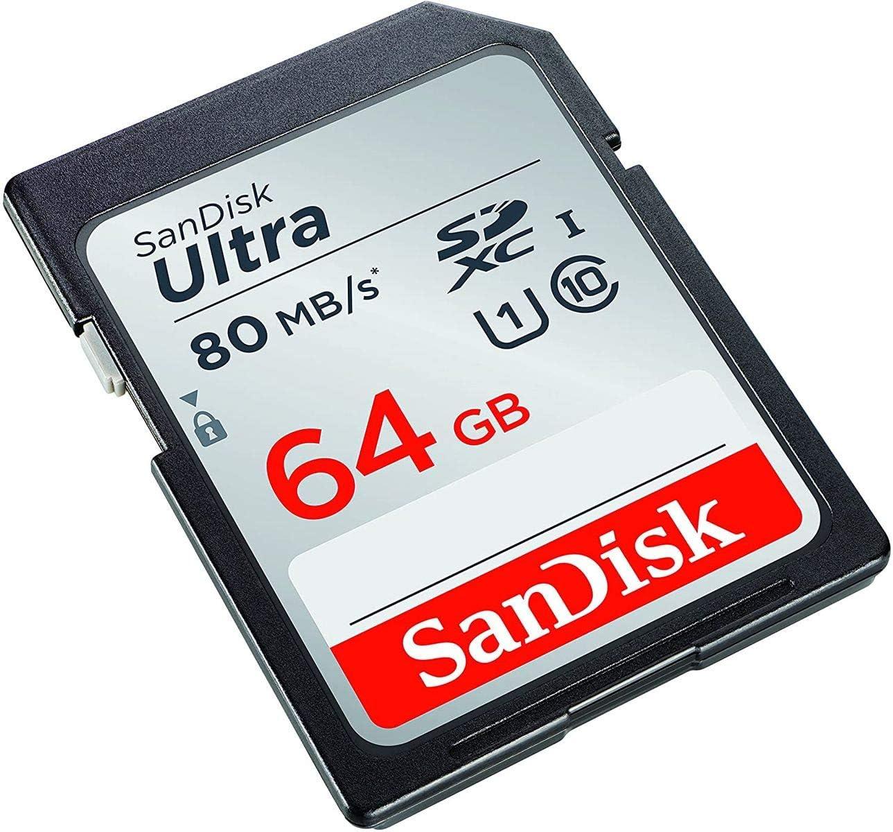 Sandisk Ultra 64gb Sdxc Bis Zu 80 Mb Computer Zubehör