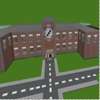 School Mod Map For MCPE - Minecraft