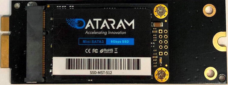 DATARAM 512GB SSD for 2012 Apple MacBook Pro EMC 2512 & EMC 2557, 2013 Apple MacBook Pro EMC 2672 & EMC 2673