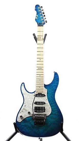 Esp e-ii ST-1 M2 Aqua Marine guitarra eléctrica para zurdos