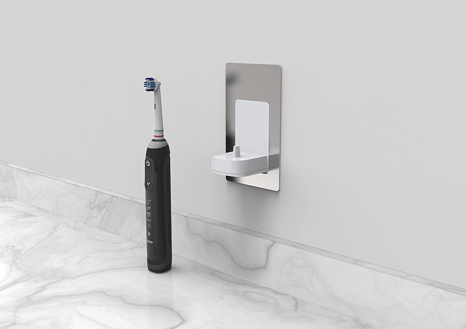 In Wall Electronic Toothbrush Charger by ProofVision Compatible with Oral BBraun Electric Toothbrushes