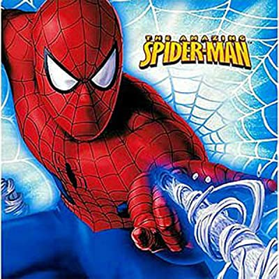 Spiderman Lunch Napkins 16ct: Toys & Games