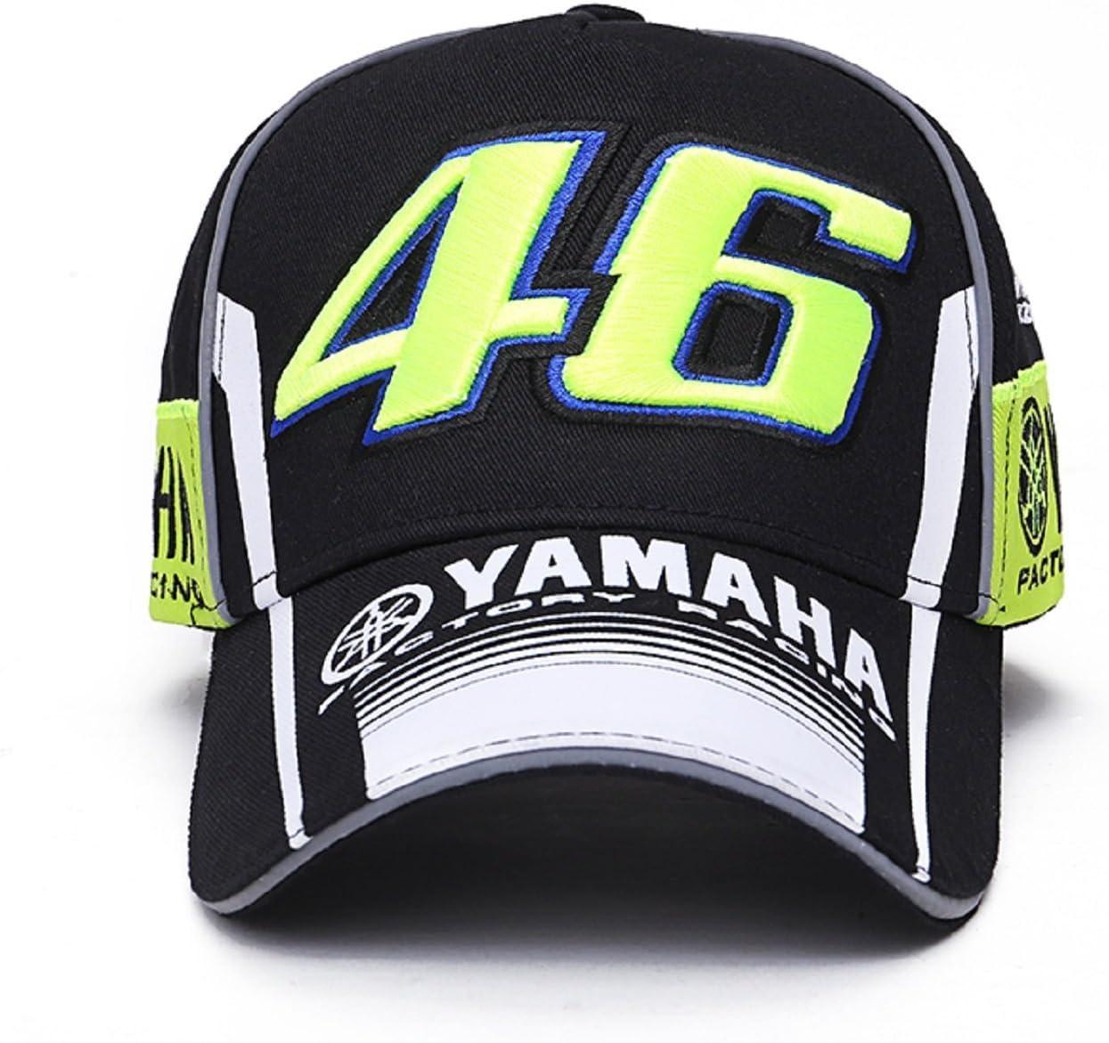 Gorra Valentino Rossi VR46 Moto GP M1 Yamaha Racing Team Negra ...