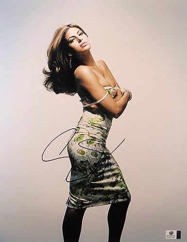 Entertainment Memorabilia Eva Mendes Signed Photo W/ Hologram Coa
