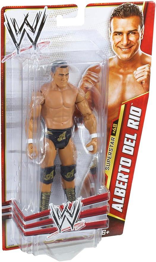 WWE Alberto Del Rio Action Figure Mattel X9809