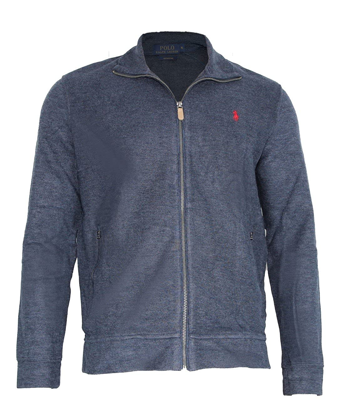 b475ac4234ff49 Polo Ralph Lauren Herren Sweatjacke Estate Rib Langarm Logo Stickerei   Amazon.de  Bekleidung
