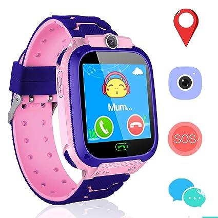 Amazon.com: Reloj inteligente para niños y niñas, reloj ...