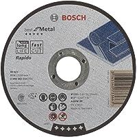 Bosch Professional 2608603514 rechte slijpschijf voor metaal, Rapido, A 60 W BF, 125 mm, 1,0 mm (1 stuk)