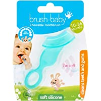 Brush-Baby Chewable Toothbrush and Teether, Assorted Colors