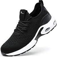 Zapatos de Seguridad para Hombres ultraligeros Zapatos de Acero con Punta de Seguridad, Zapatillas industriales…