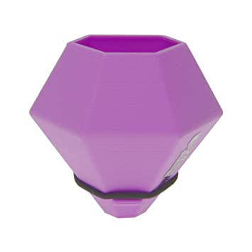 Bicycle Cycle Bike Horizontal Bk Diamond Mini Vase Purple