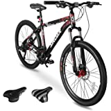 Sirdar S-700 S-800 26/29 inch Mountain Bike for Adult and Youth, 27 Speed Lightweight Mountain Bikes Dual Disc Brakes…
