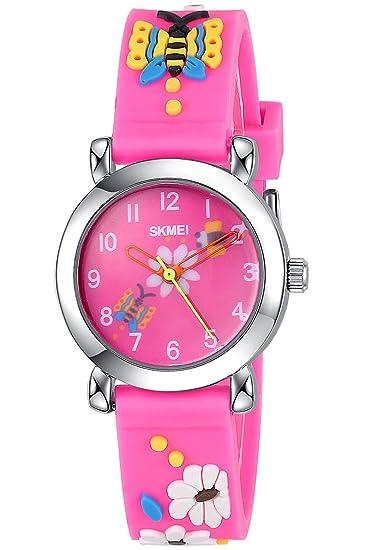 nuovi speciali colori delicati grande vendita INWET Orologio per Bambini,Bello Quadrante,Rosa Watch for ...