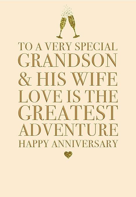 Auguri Anniversario Di Matrimonio Nonni.Sconosciuto Splendido Biglietto D Auguri In Rilievo Con Scritta
