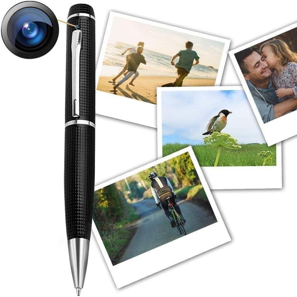USB Card Reader Night Vision | Pen Camera GEAGLE 1080p HD Hidden Spy Camera Pen 5 Ink Refills Motion Detection External Memory