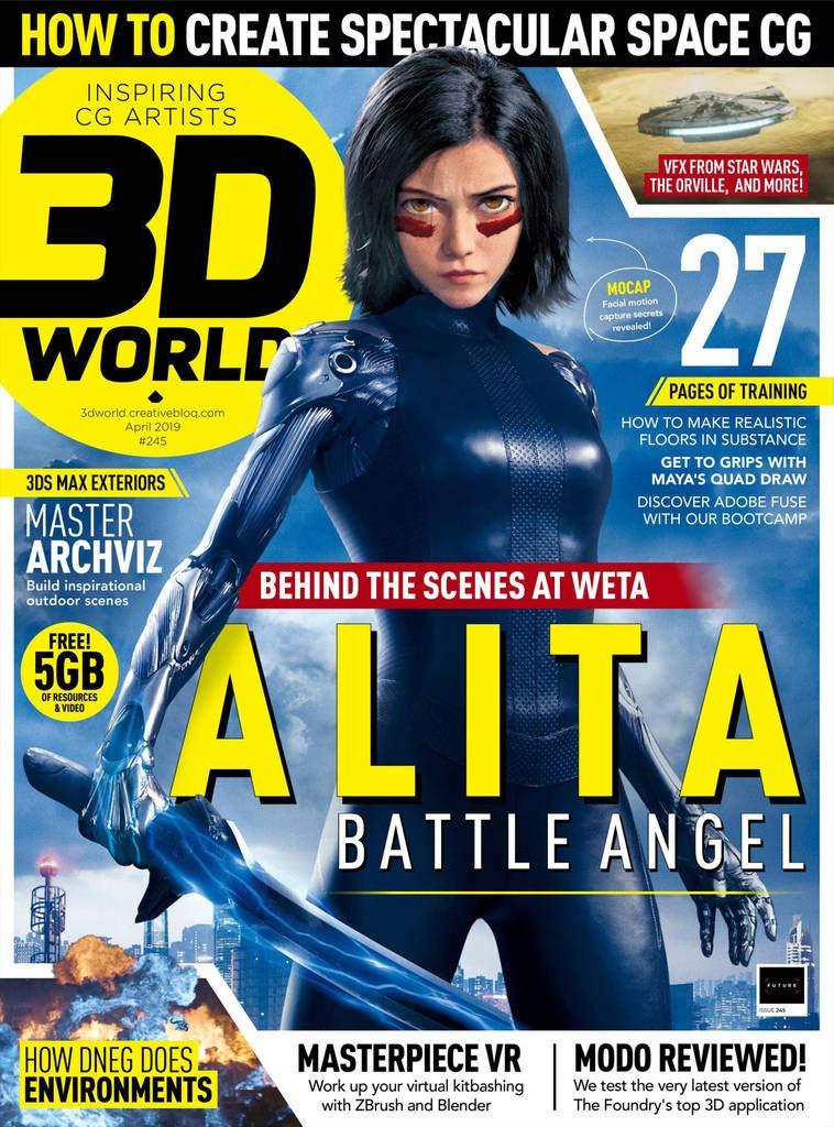 9c3abee54e5cdf 3D World Magazine: For 3D artists and animators: Amazon.co.uk ...
