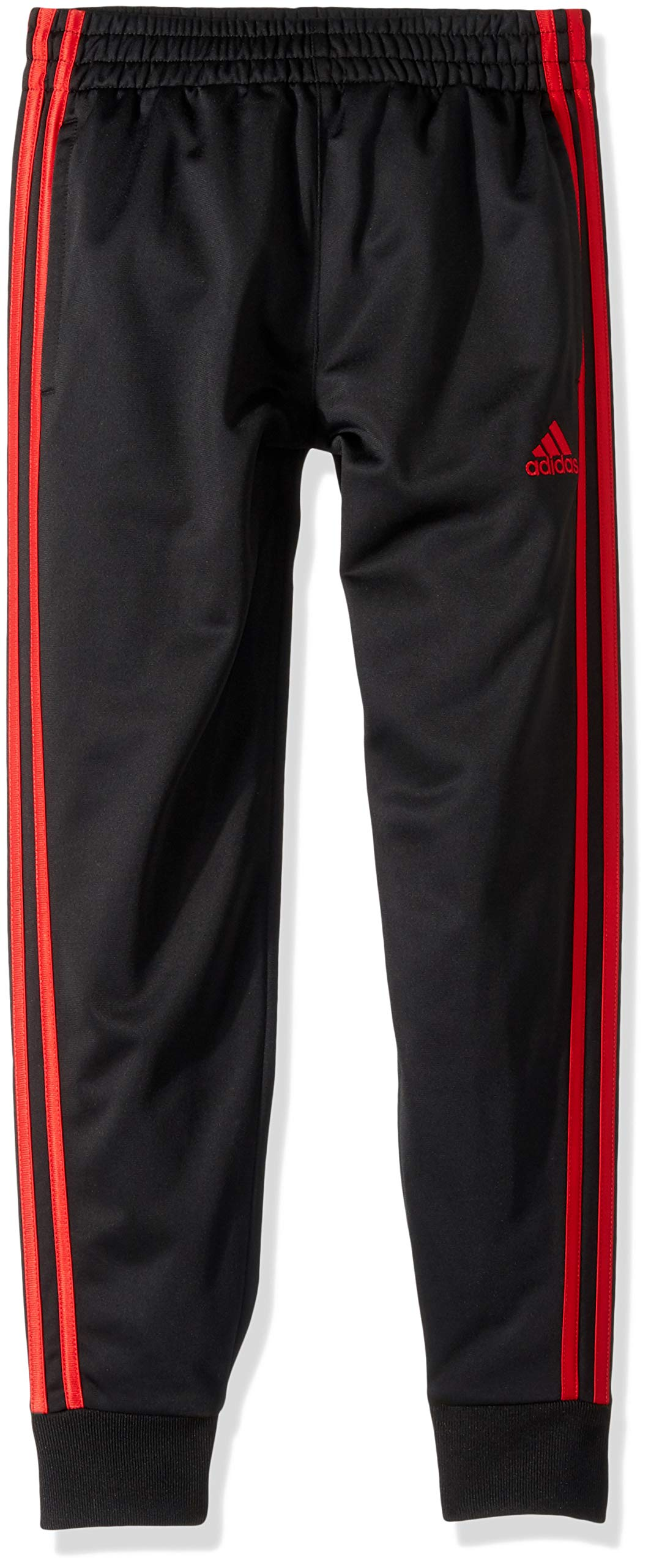 adidas Boys' Big Oldschool Jogger Pant, Black/Red