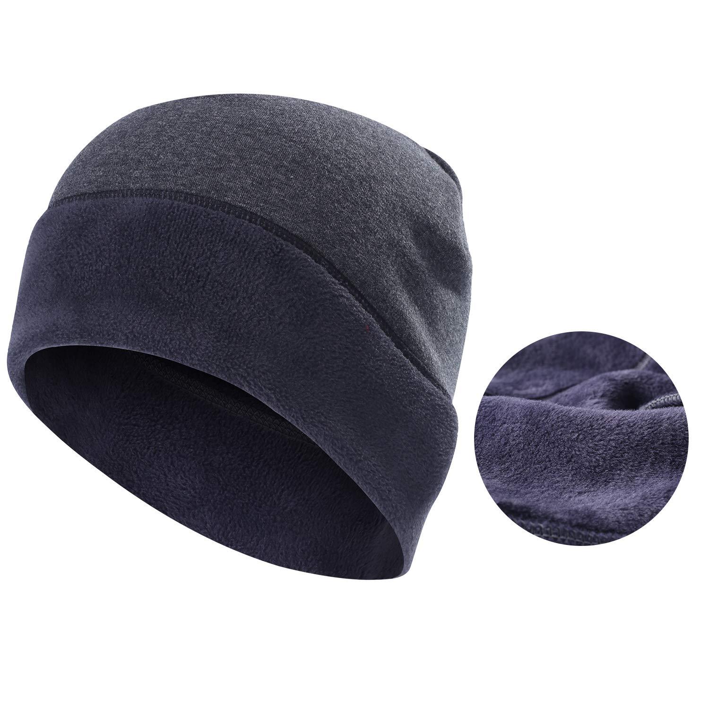 Beanie- Warmer Windproof Fleece Slouchy Soft Winter Hat Performance for Skiing Snowboarding & Daily Use Men Women Ltd