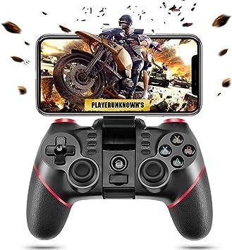 MQQ Inalámbrica Bluetooth móvil regulador del Juego de Android Joystick Gamepad Compatible for iOS/Android Teléfono/PC con Windows/Tableta/Smart TV/ TV Box / PS3: Amazon.es: Electrónica