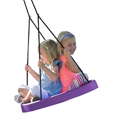 Super Spinner Swing-Fun, Easy to Install on Swing Set or Tree!
