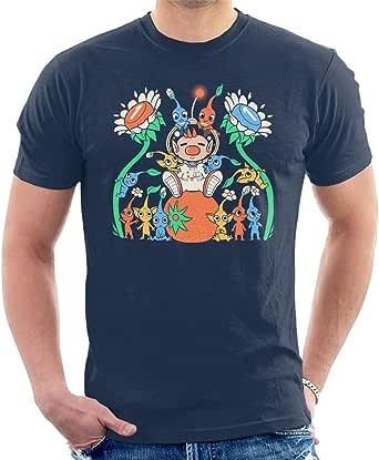 Pikmin Friendly Alien Flora Men's T-Shirt