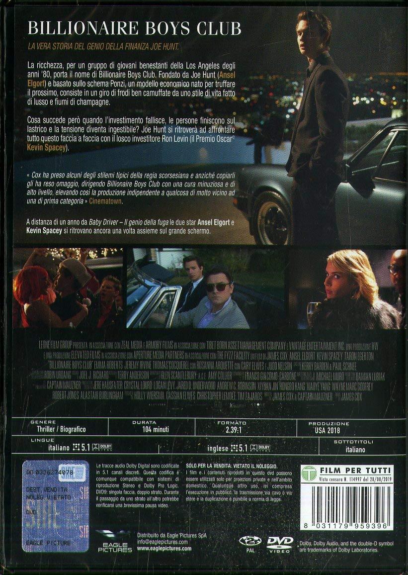 Billionaire Boys Club [Italia] [DVD]: Amazon.es: Taron Egerton ...