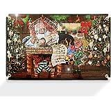 Adventskalender Weihnachtskalender mit Mini-Glasfiguren 4 cm Baumschmuck mundgeblasen und handdekoriert