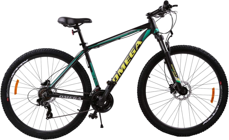 OMEGA BIKES Duke Bici, Ciclismo, Street, MTB Bike, Unisex Adulto, Verde, 27,5: Amazon.es: Deportes y aire libre