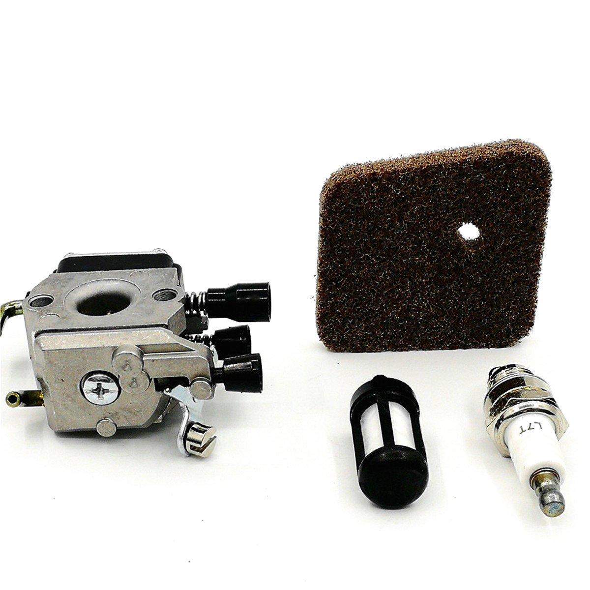 Shioshen Filtro del Carburante Carb Aria carburatore per STIHL FS38 FS45 FS55 FC55 FS74 FS75 FS76 FS80 FS85 KM80 ZAMA C1Q Serie Trimmer Parti