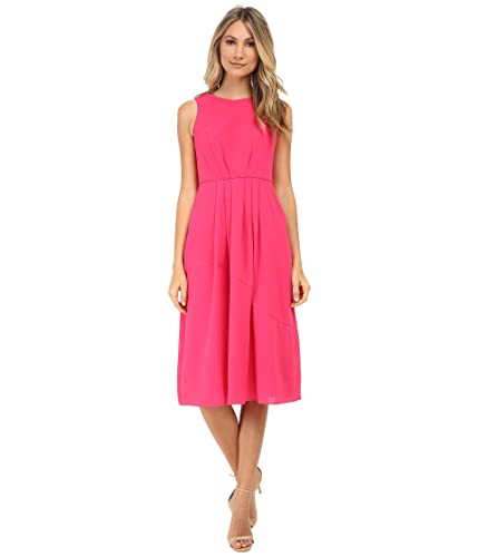 Shoshanna Pink Mabrey Midi Dress 4