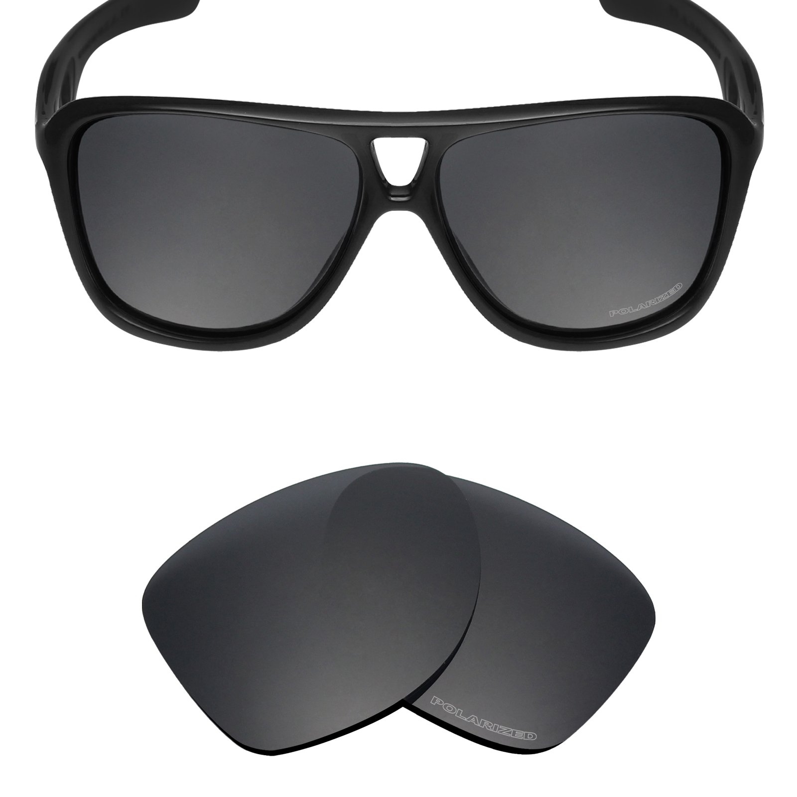 Mryok+ Polarized Replacement Lenses for Oakley Dispatch 2 - Stealth Black by Mryok