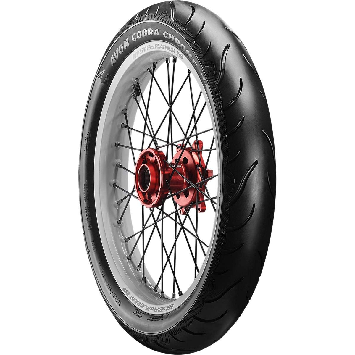Avon Tire Cobra Chrome Front Tire 130//70VR-18