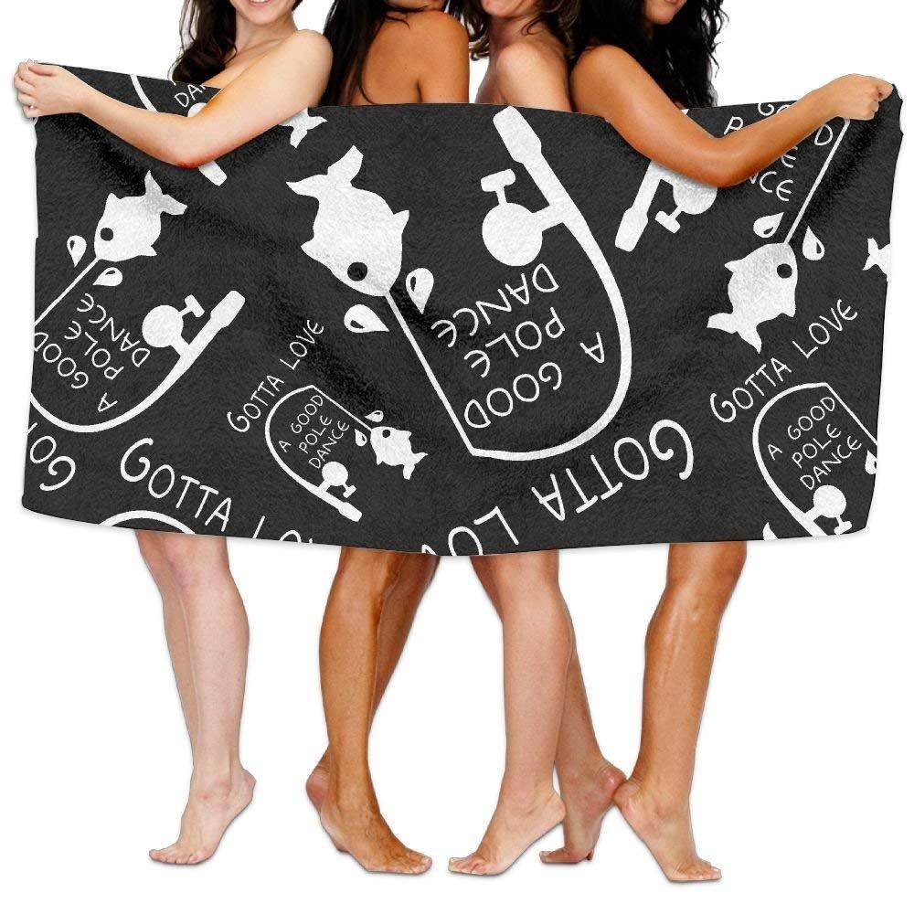 HuaXuAgr Gotta Love A Good Pole Dance 100% Cotton Luxury Bath Towel Absorbency Soft Towels