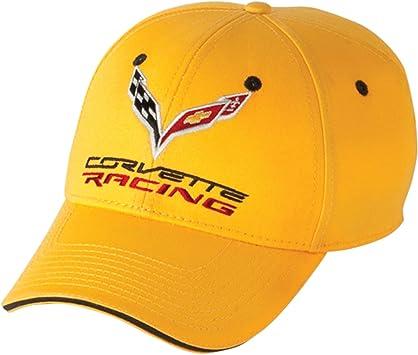 Corvette Hat C7 Racing Yellow and Black