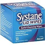 Systane - Toallitas limpiadoras para párpados, 30 unidades
