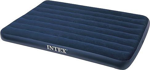 Intex 68758 - colchones de aire (Azul, Vinilo, Terciopelo)