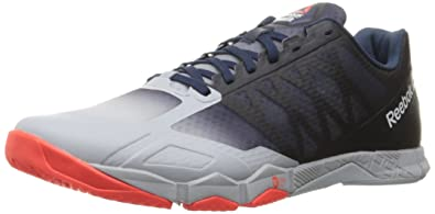 Reebok Men's Crossfit Hit TR 1.0-M Running Shoe, Cloud Grey/Collegiate Navy