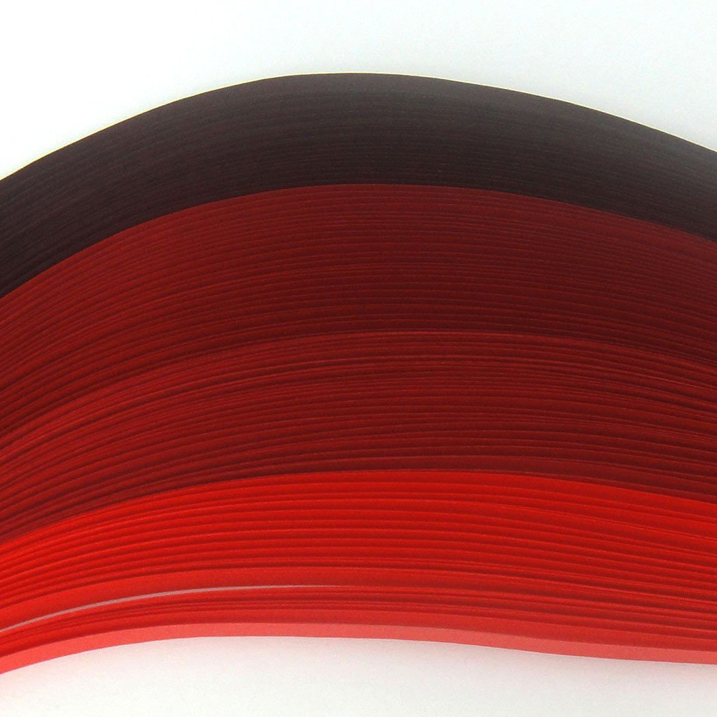 Tones of Red - 5 mm - 100 Quilling Strips by Quill On (Image #2)