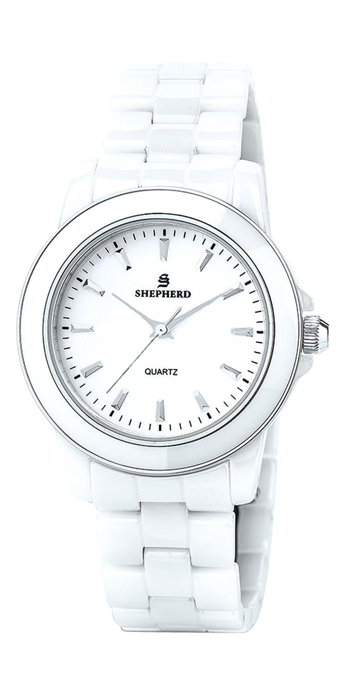 SHEPHERD Keramik Damen Armbanduhr 60231
