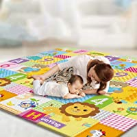 Play Mat, 200 * 180 CM Playmat, Baby Play Mat for Floor Play, Extra Thick Kids Crawling Mat, Water Proof and Reversible…