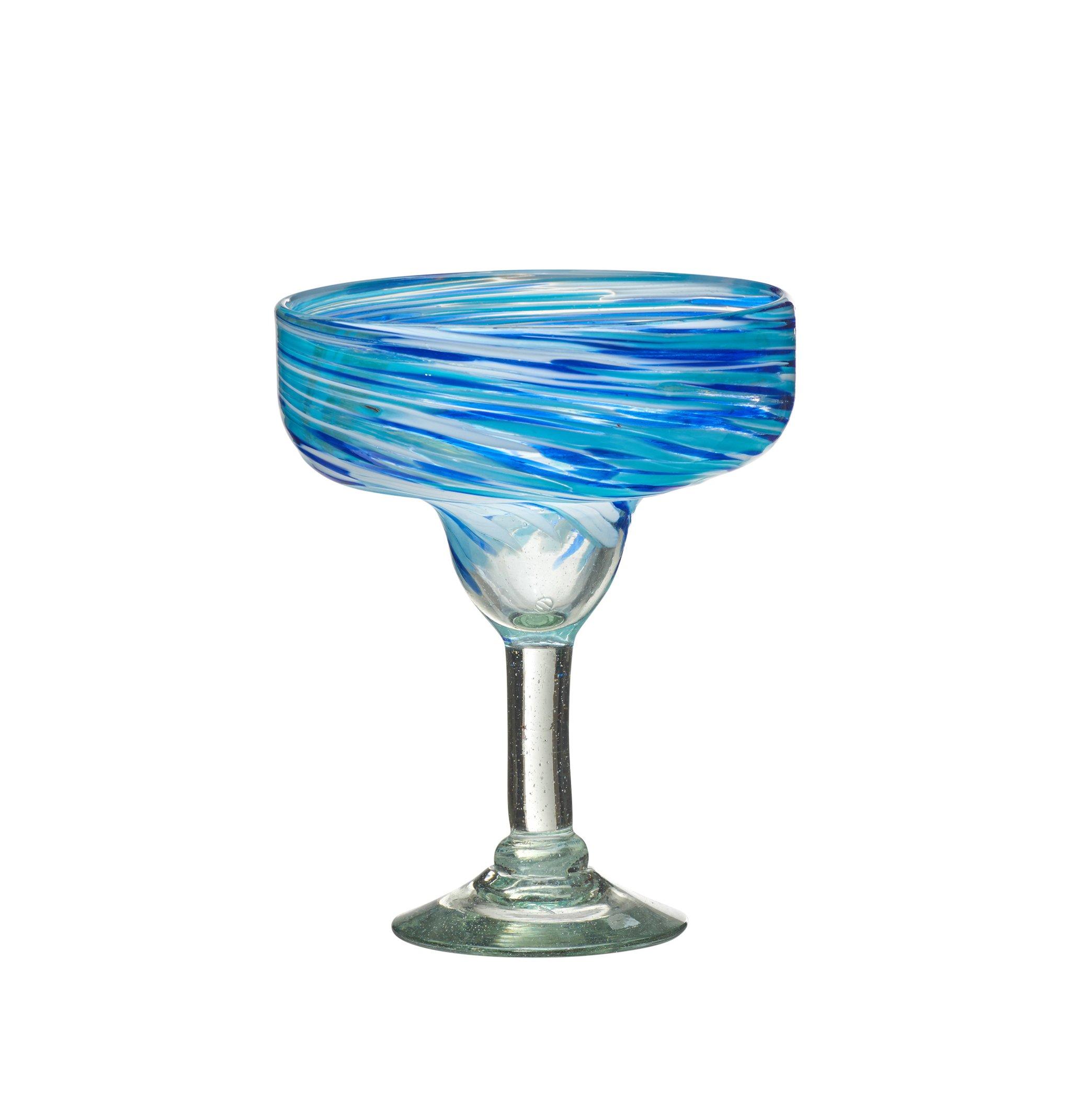Amici Malibu Collection Margarita Glass - Set of 4 by Amici Home